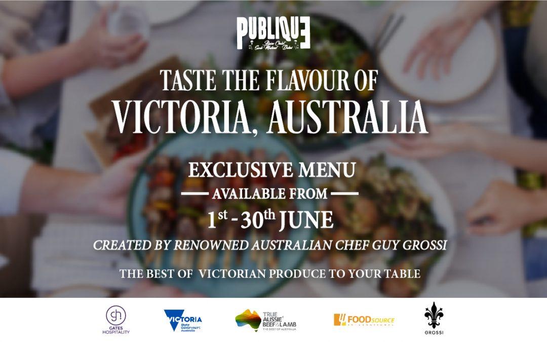 TASTE THE FLAVOUR OF VICTORIA, AUSTRALIA